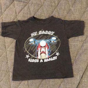 Toddler Boys Harley Davidson Shirt Sz 3T